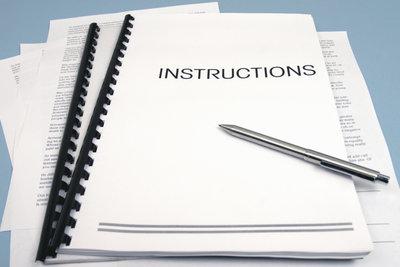 Jedes Protokoll hat einen formalen Rahmen.