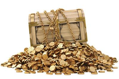 Das Dagobert-Duck-Syndrom bezeichnet den Drang, Geld zu horten, um seinen Reichtum zu vergrößern.