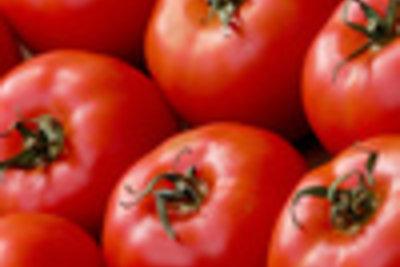 Wer hätte das gedacht ? Tomate wirkt desinfizierend.