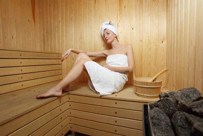 Eine Sauna im eigenen Haus lässt sich verwirklichen.