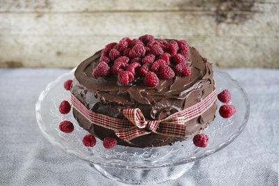Verwenden Sie Canache für Kuchen und Torten.