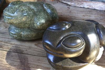 Aus Speckstein lassen sich tolle kleine und größere Skulpturen fertigen.