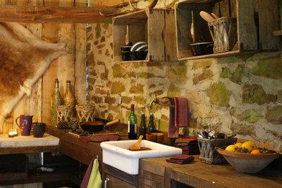 Kleine Küchen werden mit pfiffigen Ideen zur Wohlfühloase.