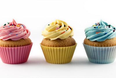 Ein interessantes Frosting macht den Cupcake erst so richtig verführerisch.