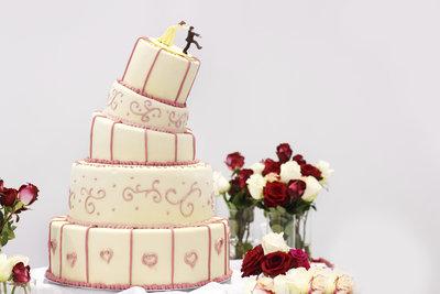 Nicht nur Hochzeitstorten lassen sich toll dekorieren.
