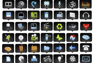 Sie können beliebig viele Icons erstellen und verwenden.