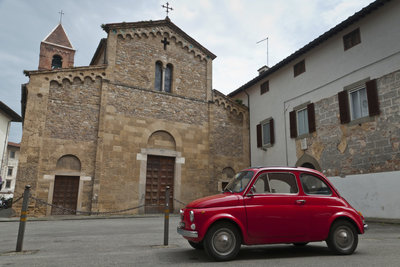Der Fiat ist eines der bekanntesten Autos aus Italien.