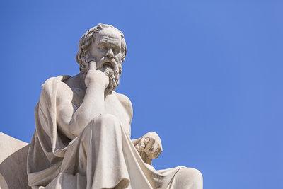 Die Wiege der Philosophie ist in Griechenland.