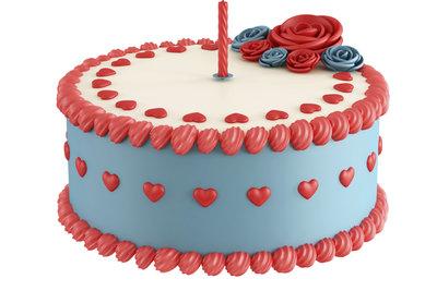 Eine Fondant-Decke verschönert Ihre Torte in zahlreichen Farben.