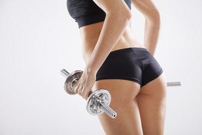 Effektive Übungen trainieren Ihre Pomuskeln.