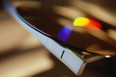 Brennen Sie mit iPhoto Ihre Diashow auf CD oder DVD.