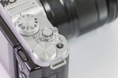 Die meisten DSLRs sind mit einer Auswahl für mehrere Bildformate ausgestattet.