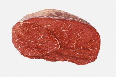Rindfleisch ist im Tiefkühlschrank acht bis zehn Monate haltbar.