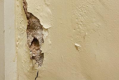 Feuchte Mauern sind eine Gefahr für Ihr Wohnhaus.
