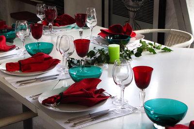 Zu einem runden Geburtstag gehört eine festliche Tischdekoration.
