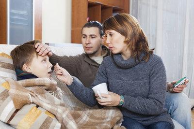 Sind Kinder krank, gibt es Sonderurlaub oder Freistellung.