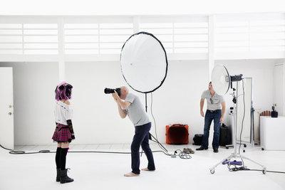 Fotografie im Studio erlaubt die maximale Kontrolle aller Bildelemente.