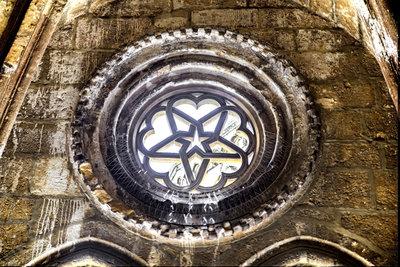 Das Pentagramm ist an vielen Kirchen zu finden.