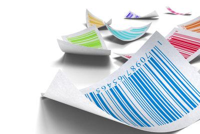 Die richtige Farbkombination ist entscheidend für eine gute Scanner-Lesbarkeit.