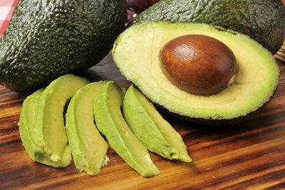 Avocado ist eine Frucht ohne Zucker.
