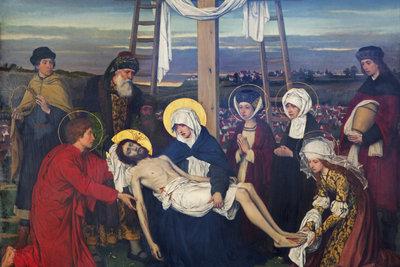 Karfreitag ist der Tag, an dem Jesus Christus auf dem Berg Golgatha gekreuzigt wurde.