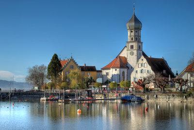 Der Bodensee ist ein beliebtes deutsches Urlaubsziel.