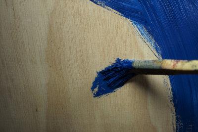 Ohne vorherige Planung sieht das fertig getrichene Holz oft anders aus als gedacht...