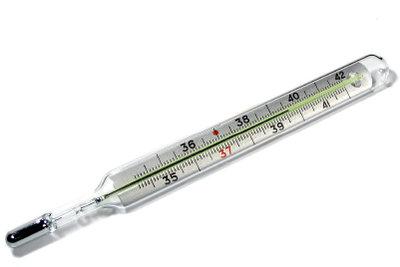 Ein Thermometer ist zur Verhütung mit der Temperaturmethode vonnöten.