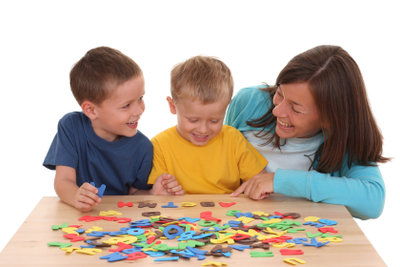 Spielerisches Lernen macht Kindern Spaß.