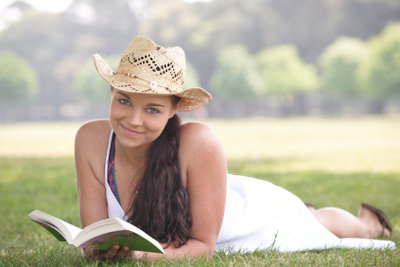 Lernen in der Natur ist eine angenehme Abwechslung zum Schreibtisch in den Ferien!