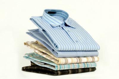 Hemden falten ist leichter als es aussieht !
