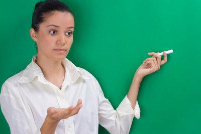 Einen guten Schulvortrag anhand formulierter Stichwörter zu halten ist gar nicht so schwierig!