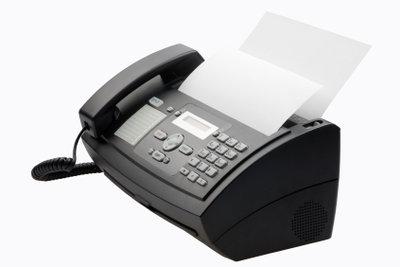 Ein Faxgerät lässt sich so einfach bedienen wie ein Telefon. Ein Fax zu senden ist kinderleicht.