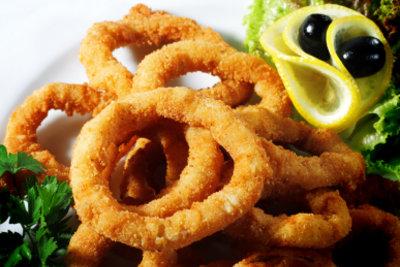 Tintenfischringe können Sie auch zu Hause zubereiten.