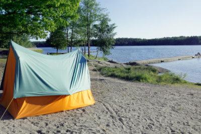 Jedermannsrecht: Sie dürfen Ihr Zelt überall in Schweden aufstellen, solange es niemanden stört.