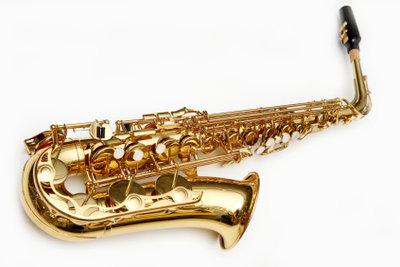 Saxophon spielen macht Spaß.