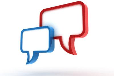 Schreiben Sie einen Comment auf Englisch: Vertreten Sie Ihre Meinung!