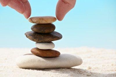 Egal welche Form oder Größe, jeder Stein kann an einer Kette befestigt werden.
