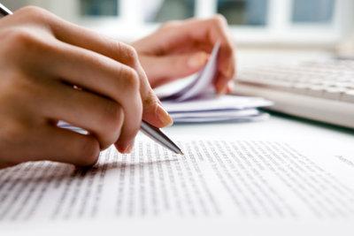 Es ist nicht schwierig die richtige Schriftgröße für die Bewerbung zu finden.