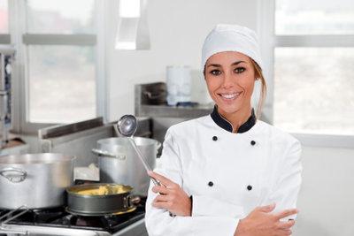 Chefkoch wird man vor allem durch viel Berufserfahrung.