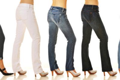 Für jede Figur gibt es die richtige Jeansform - Sie müssen sie nur finden.