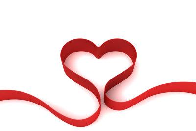 Eine romantische Liebeserklärung kommt immer von Herzen.