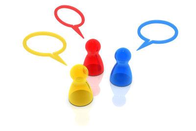 Mit ICQ können Sie nicht nur mit einzelnen, sondern auch mit mehreren Personen gleichzeitig chatten.