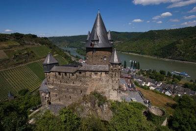 Übernachten in einer Burg: Stahleck ist eine Jugendherberge.