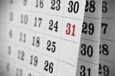 Tragen Sie im Kalender ein, wann die Periode kommt!