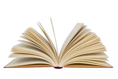 Broschierte Bücher sind empfindlich und können schnell Knicke bekommen.
