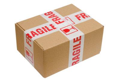 """Achtung """"fragile""""! - und was machen Sie bei einem Transportschaden?"""