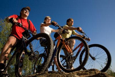 Wenn Sie mit Ihrem TomTom Fahrradkarten anzeigen, ist verirren ausgeschlossen.