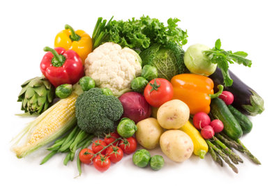 Frisches Gemüse lässt sich schnell und einfach zu einer leckeren Gemüsepfanne verarbeiten.