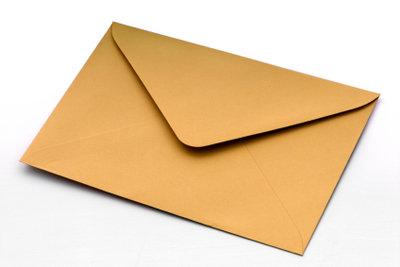 Beschriften Sie den Brief nach England richtig, dann kommt er auch an.